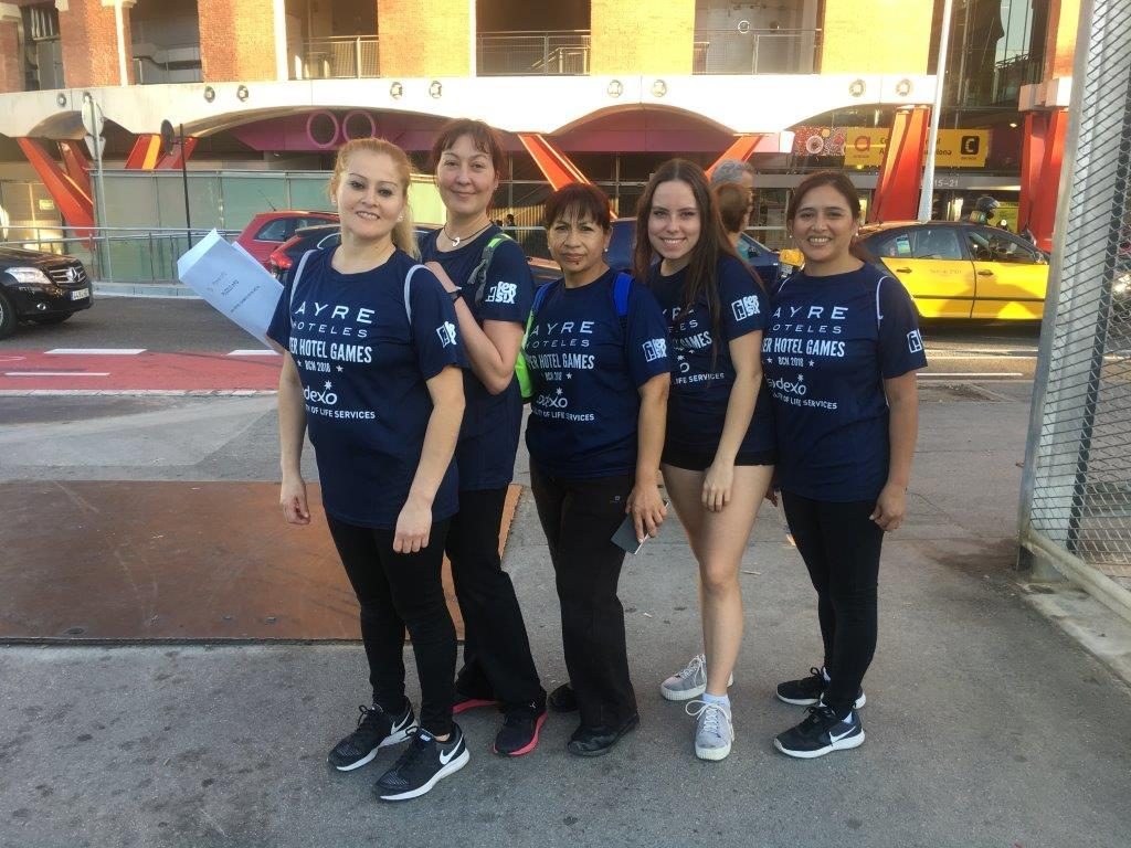 Inter Hotel Games equipo chicas